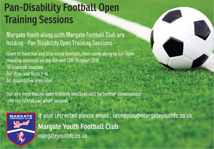 Football Open training sessions