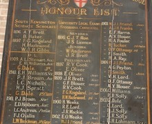 Old Honours Board 1