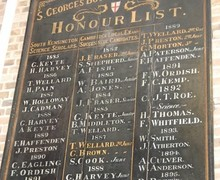 Old Honours Board 2