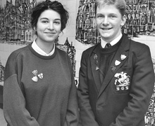 Head Girl and Boy 1990