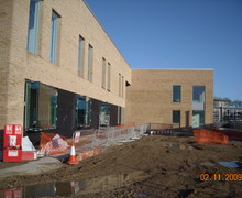 School Building Work 2nd November 2009