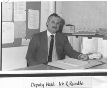 Mr Keith Rumblo, Head Teacher 1997-2009