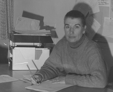 Sue Stratton, photo from about 1989