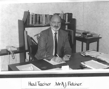 Mr John Fletcher, Headteacher 1988-1997