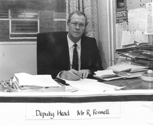 Mr Ron Fennell, Deputy Head until about 1995
