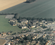 1990s Aerial View of the School